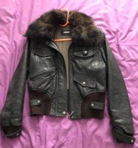 Женская кожаная (натуральная кожа) куртка