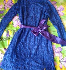 Платье для беременных и кормящих 46р I love mum