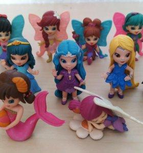 Маджики: эльфы, принцессы, феи, русалка