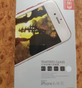 Стекло 3д на Iphone 6/6s бел. И др