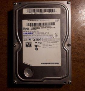 Жесткий диск 250gb 3.5