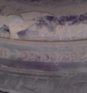 Колеса литье  265,50,20
