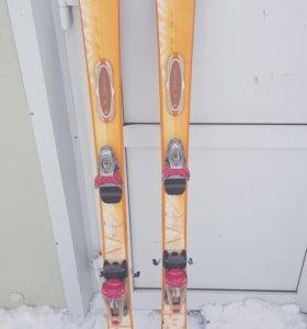 Горные лыжи длина 153 см 41 р