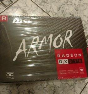 Новая видеокарта MSI Radeon RX570 8Gb