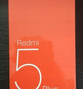 Xiaomi Redmi 5 Plus 4/64 Black Global Version. New