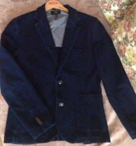 Пиджак мужской 48 размер( Можно в школу носить)
