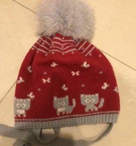 Очень тёплая шапочка на зиму