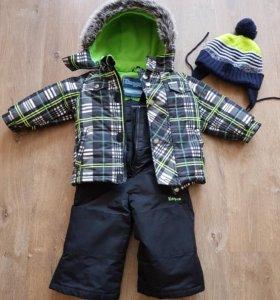 Зимний костюм(мембрана) +шапка