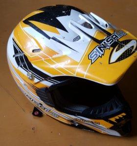 Шлем для мотокросса SINISALO