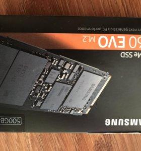 Samsung 960 Evo series 500GB M.2 PCIe 3.0 x4