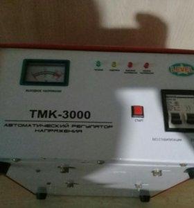 Автоматмческий регулятор напряжения ТМК 3000.