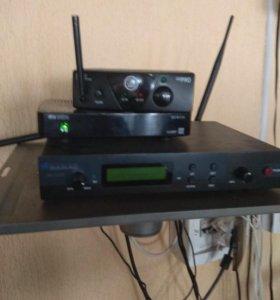 Светодиодные приборы, радиомикрофоны