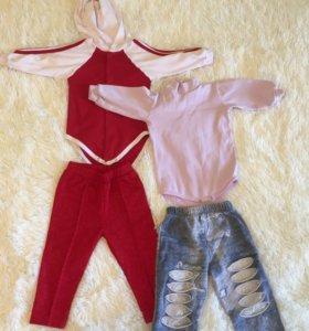 Одежда для девочки, рост 74-80