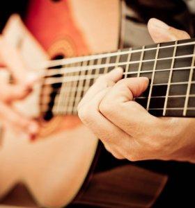Репетитор игры на гитаре + вокал