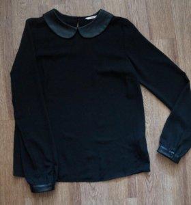 Блузка чёрная