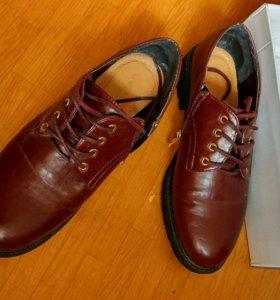 Весенняя обувь (ботинки)