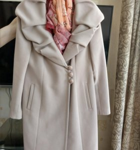 Пальто шерсть р 48
