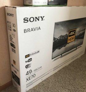 Новые Sony KD-49XE7096 ULtra HD 4K Smart TV