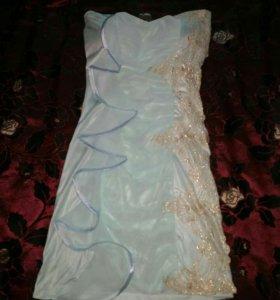 Платье цвет мяты