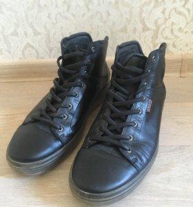 Кеды , ботинки Ecco . Натуральная кожа