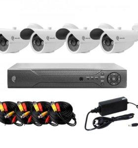 Комплект видео наблюдения
