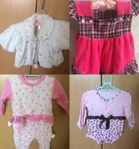 Продам большой лот одежды для девочки