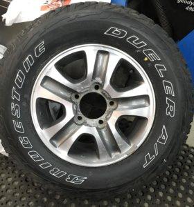275/65/17 бридж + диск Лексус/Тойота