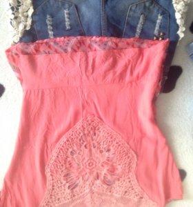 Шортики и блузка