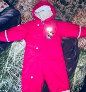 Зимний комбинезон Lenne Baby 80(+6) + сапоги Demar