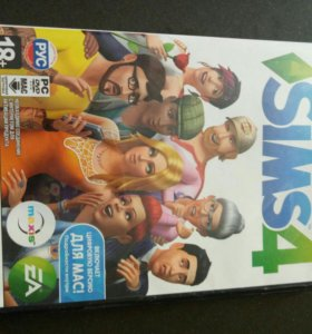 2 диска The Sims 4