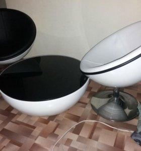 Набор стол и кресла