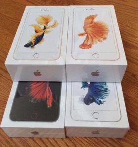 Iphone 6s 64gb золотой. Оригинал новый в упаковке