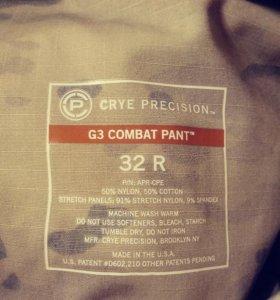 Тактические штаны Crye Precision. G3 Combat Pant.