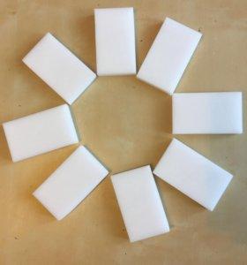 Меламиновые чудо губки белые 20 шт - НГ 14 к-кс