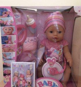 Кукла интерактивная Baby Born новая в упаковке