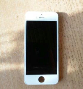 IPhone 5. Оригинальный экран.