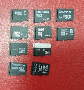 microCD 32gb 16gb, 8gb, 4gb, 2gb