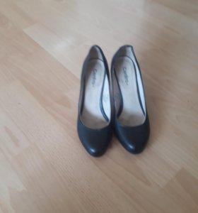Туфли кожанные 35р-р