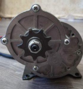 Электро двигатель редукторный