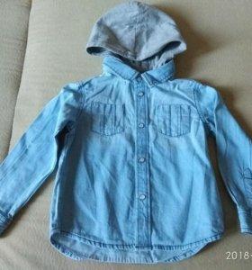 Новая рубашка для мальчика 86 - 92 детская