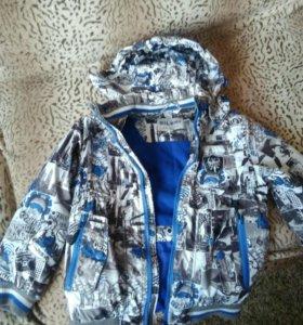 Куртка для мальчика рост 128.