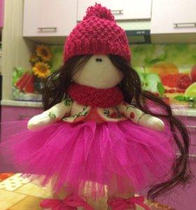 Текстильная интерьерная куколка 🎁