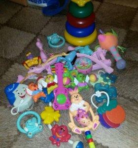 детские вещи и принадлежности пакетом