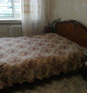 Кровать двух местная