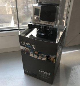 Экшн камера GoPro hero 3+ silver