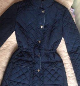 Пальто куртка стёганая