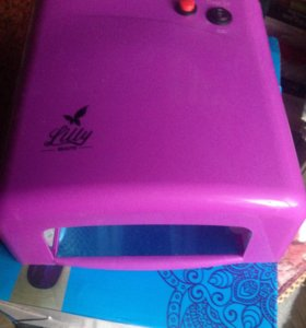 UV лампа для сушки геля и наращивания ногтей