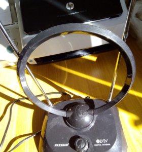 Антена телевизионная с усилителем сигнала