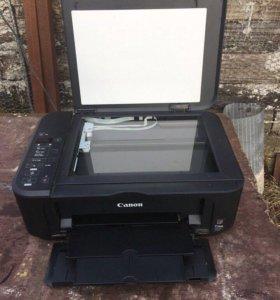 Canon Принтер +сканер