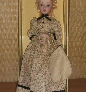 Кукла фарфоровая (дамы эпохи)